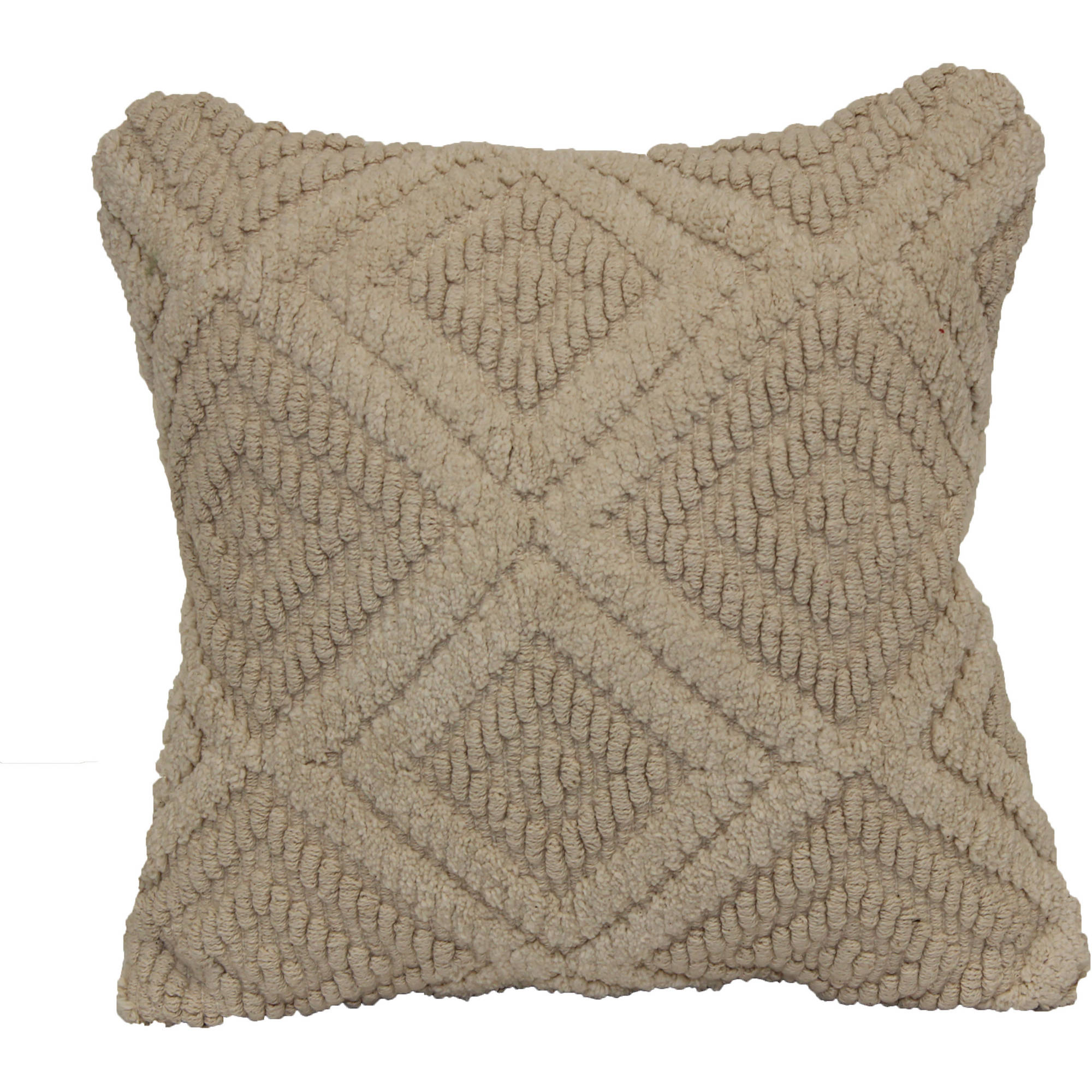 Better Homes and Gardens Decorative Pillow with Natural Diamonds by Brentwood Originals