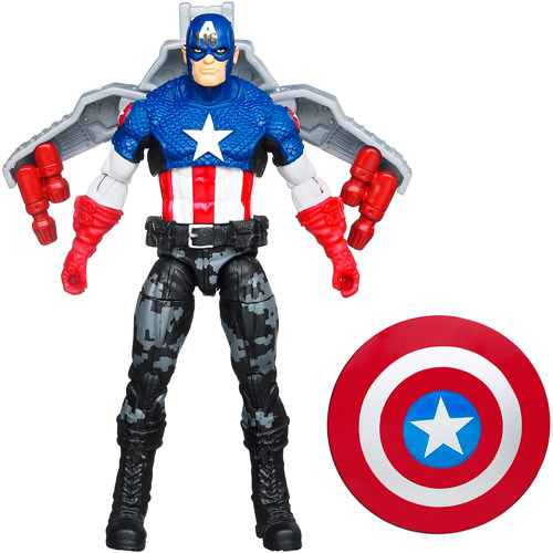 Concept Series Night Mission Captain America Action Figure