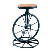 Michaelo Bicycle Wheel Adjustable Bar Stool