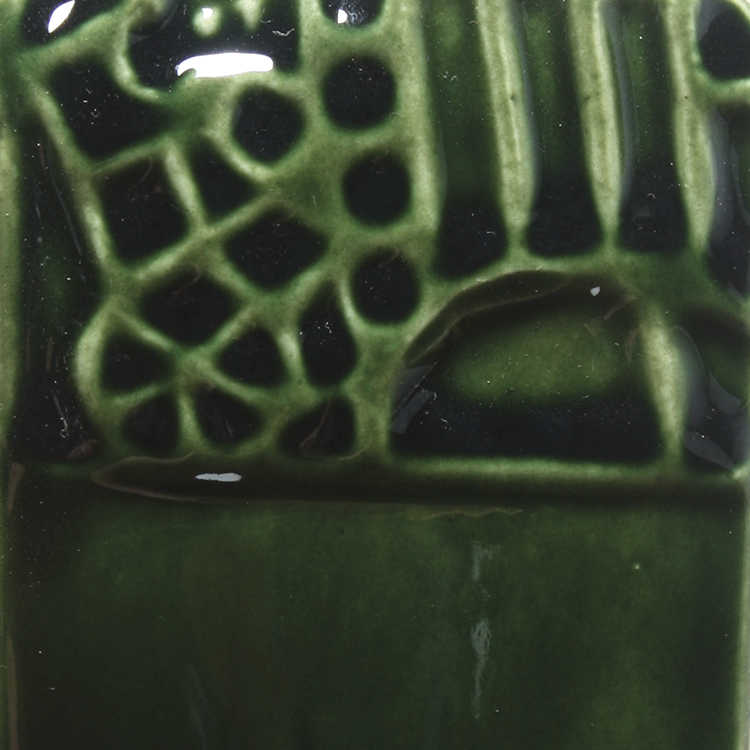 Mayco Elements Glaze, Lustre Green FN219, 1 Pint