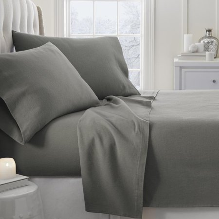 Noble Linens Premium 4 Piece Ultra Soft Flannel Bed Sheet (Chateau Bed Linens)