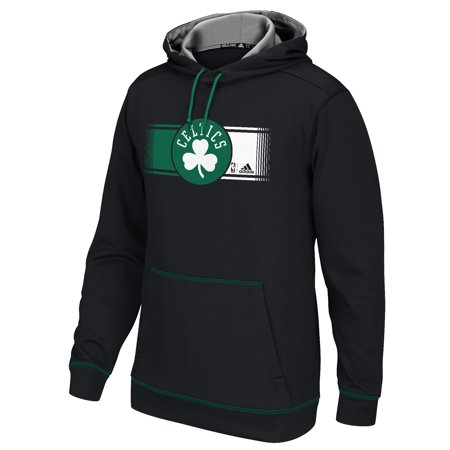 Adidas Boston Celtics Tip Off Pullover Hoodie (Black) by