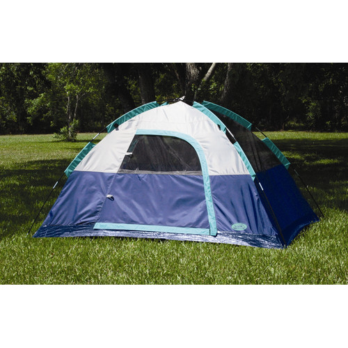 Texsport Riverstone Dome Tent in Legion Blue / Storm Gray / Wasabi