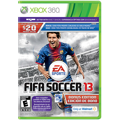 FIFA Soccer 13 Bonus Edition - Walmart Exclusive - Xbox 360