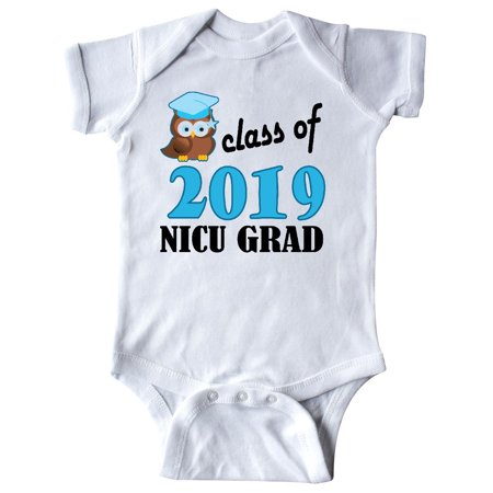 NICU Grad 2019 Baby Boy Owl Infant Creeper