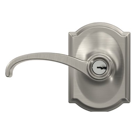 Schlage Whitney Keyed Entry Lever With Camelot Trim