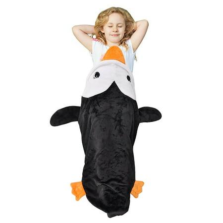 Cute Tail Blanket Super Soft Plush Throw Sleeping Blanket Bag for Toddler, Kids, Children, Teens Boys Girls 52