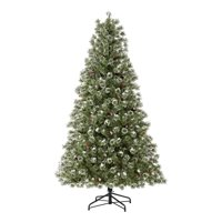 Holiday Time Pre-Lit Redland Spruce Artificial Christmas Tree, 7.5', Clear