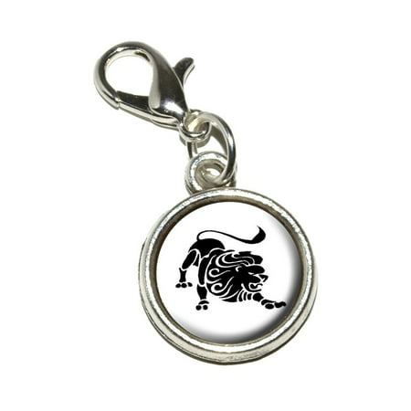 Lion Shoe Charm (Leo The Lion Zodiac Horoscope)