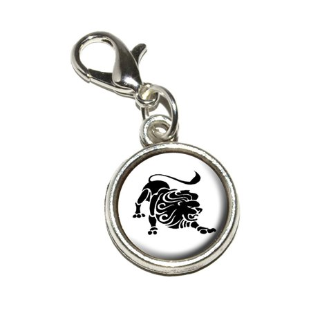 Leo The Lion Zodiac Horoscope Charm
