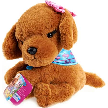 3fd2324d4949 Barbie Puppy Adventure Bean Plush, Brown - Walmart.com