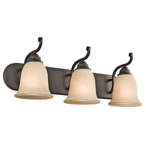 Camerena 3 Light Bath Wall Sconce
