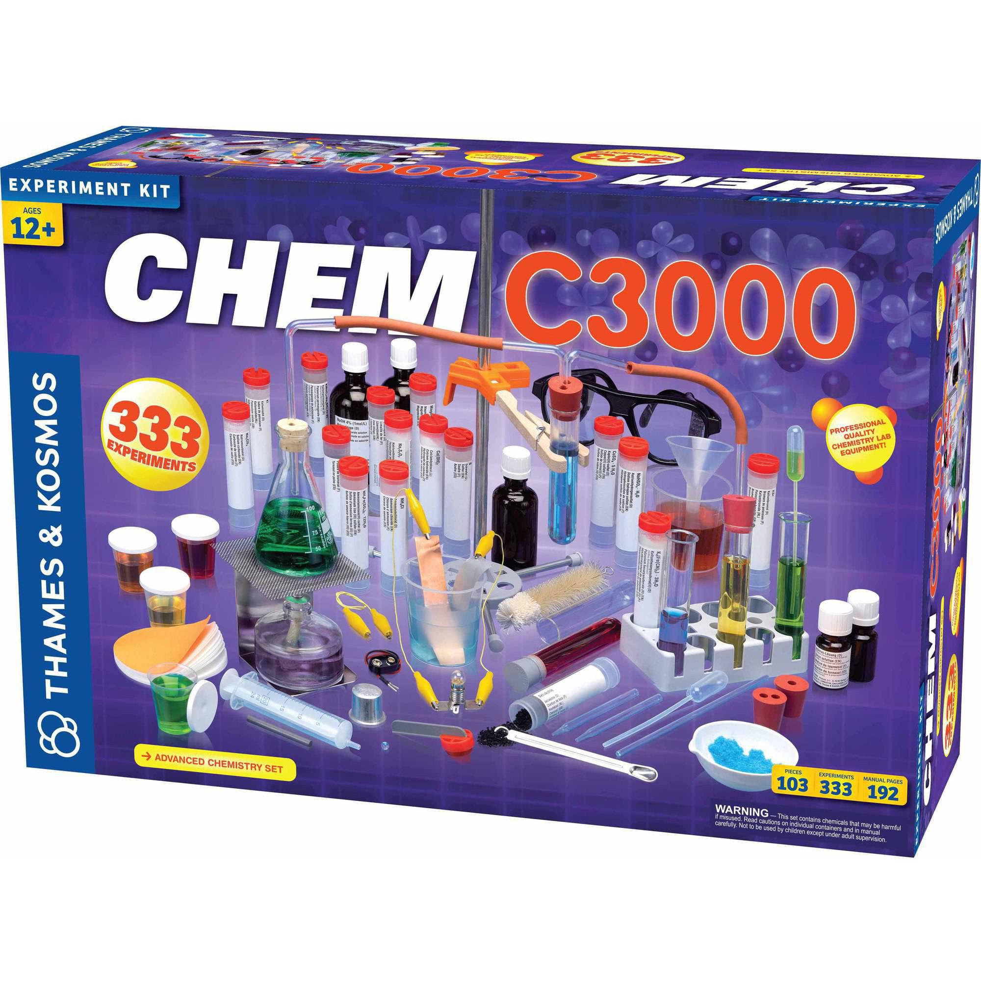 Thames & Kosmos CHEM C3000 Science Experiment Kit by Thames & Kosmos LLC