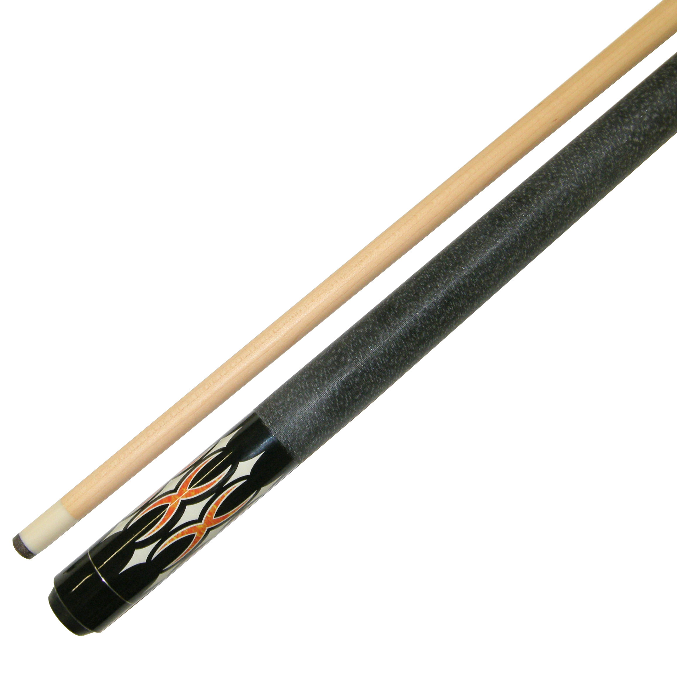 "58"" 2 Piece Hardwood Canadian Maple Billiard Pool Cue Stick 21 Ounce by"