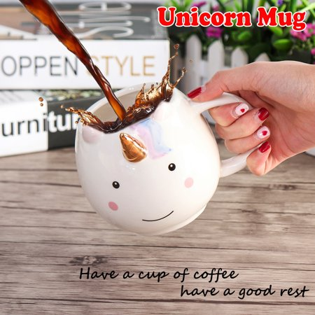 Grtsunsea 520ml Novelty Molded Mug Ceramic Coffee Hot/Cold Tea Cup Funny Gift For (Ceramic Slip Mold)