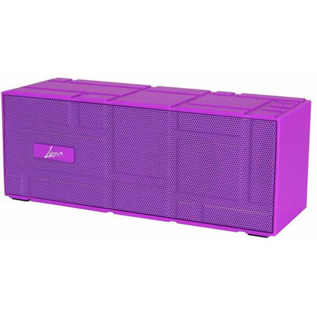 PC Treasures Lyrix Remixx Wireless Bluetooth Speaker, Purple