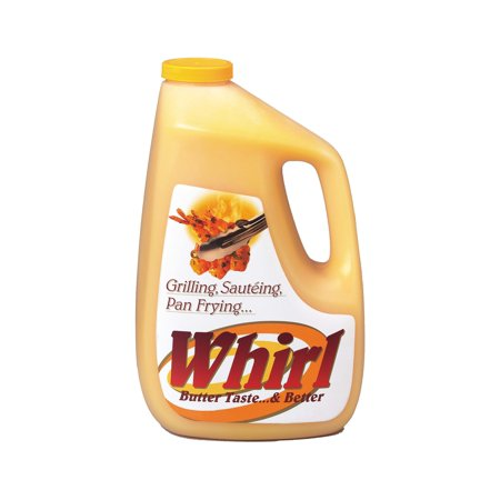 Whirl, Butter Flavored Oil, 1 Gallon (3 Count)