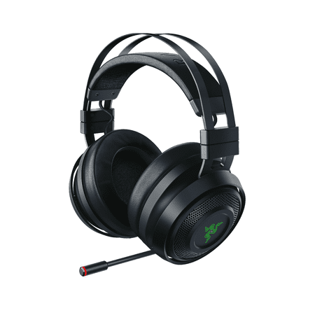 Razer Nari Wireless: THX Spatial Audio - Cooling Gel-Infused Cushions - 2.4GHz Wireless Audio - Mic with Game/Chat Balance - Gaming Headset Works for PC, PS4, Switch & Mobile