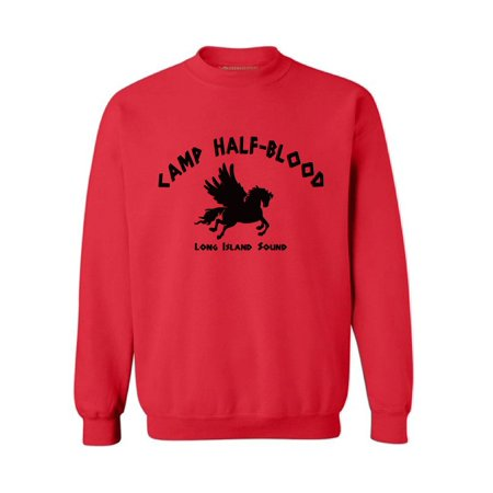 Awkward Styles Camp Half Blood Crewneck Geek Crewneck Geek Sweater Camp Half-Blood Unisex Clothing Nerd Clothing Mythology Lovers Gifts Mystical Crewneck Clothing for Her Gifts for Him Camp Half-Blood Clothing Collection is the best gift for mythology lover!