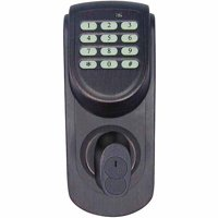 Design House 702548 Keypad Deadbolt, Brushed Bronze Finish