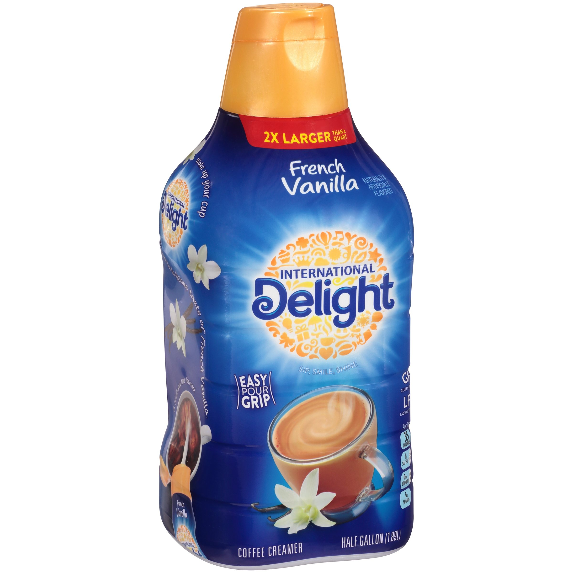 International Delight, Cold Stone Creamery Sweet Cream, Single-Serve Coffee Creamers, Count, Shelf Stable Non-Dairy Flavored Coffee Creamer, Great for Home Use, Offices, Parties or Group Events.