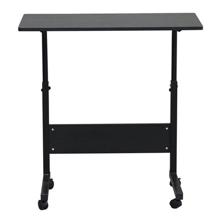 Enjoyable Removable Living Room Sofa Side Wood Steel Table Height Adjustable Writing Study Desk Bedroom Laptop Table Black Pabps2019 Chair Design Images Pabps2019Com