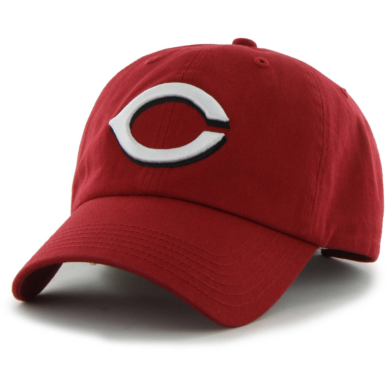 MLB Cincinnati Reds Clean Up Cap / Hat by Fan Favorite