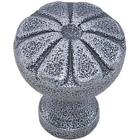 (Petal Novelty Knob Finish: Stainless Steel, Size: 1.25