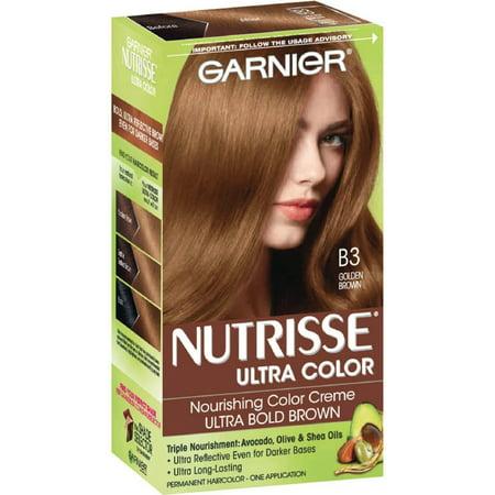 3 Pack - Garnier Nutrisse Ultra Color [B3] Golden Brown 1 (3 Pack Colour)