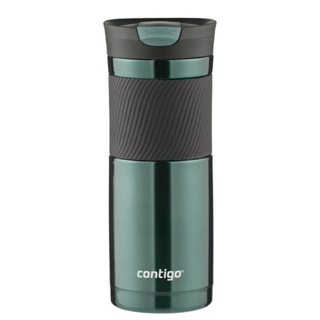 Contigo SNAPSEAL Byron Vacuum-Insulated Stainless Steel Travel Mug, 20 oz., Grayed (Cosori 24 Watt Stainless Steel Coffee Mug Warmer)