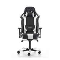 DXRacer King Series Gaming Chair, Black and White