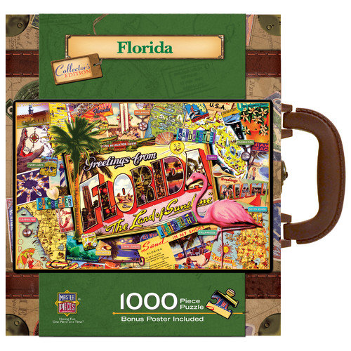 MasterPieces Kate Ward Thacker Florida 1000 Piece Jigsaw Puzzle