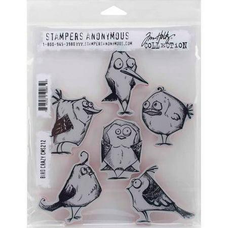 - Tim Holtz Cling Rubber Stamp Set, 7