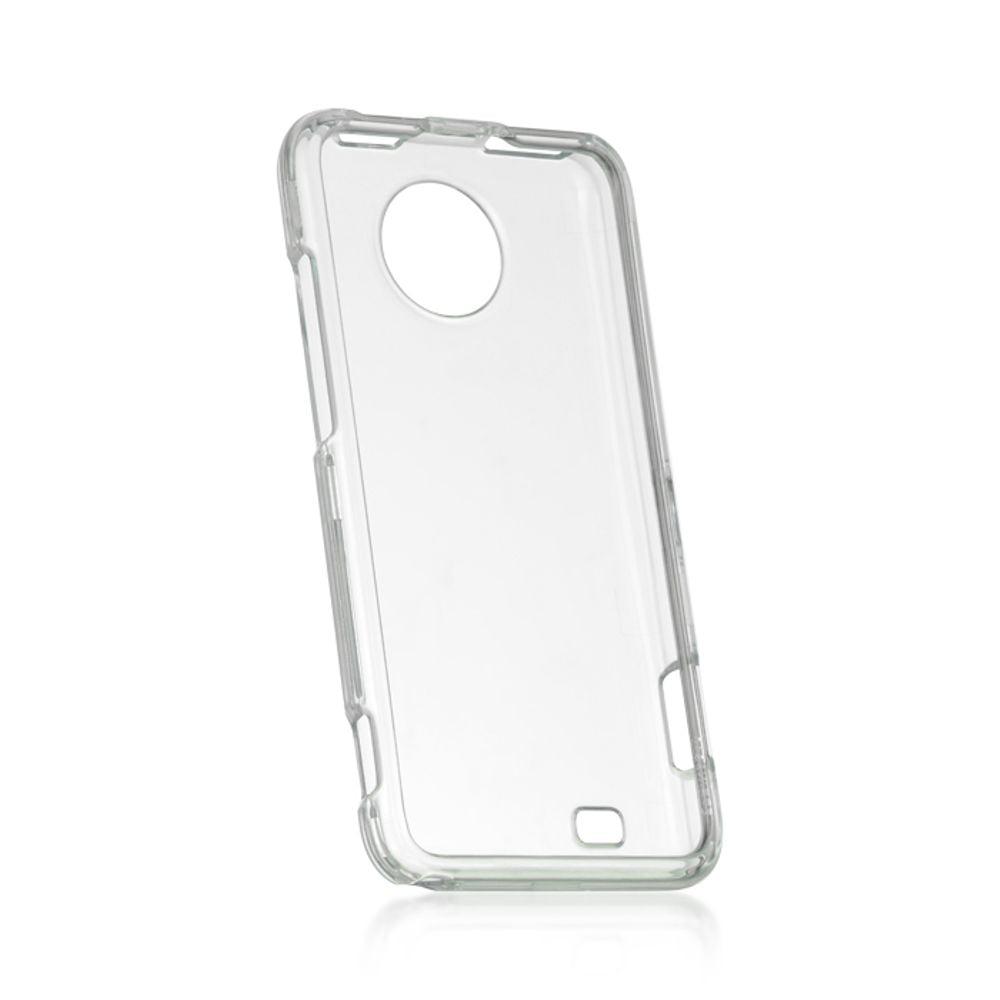 ZTE Vital Case, by Insten Crystal Skin Hard Clip On Back Rear Cover Case For ZTE Vital - Clear - image 1 de 1