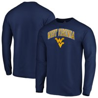 West Virginia Mountaineers Fanatics Branded Campus Long Sleeve T-Shirt - Navy
