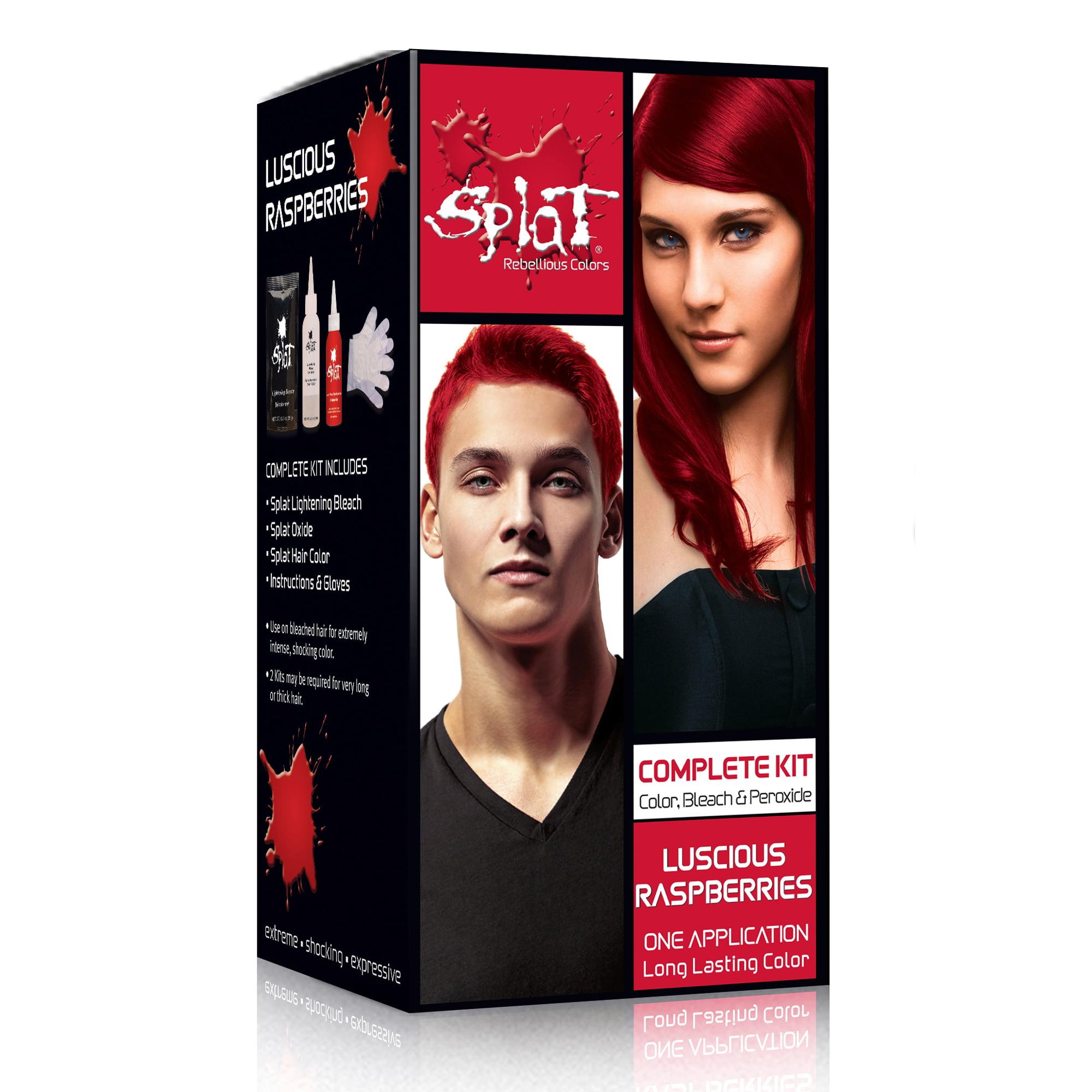 Splat Semi Permanent Bold Hair Color Kit Walmart Com