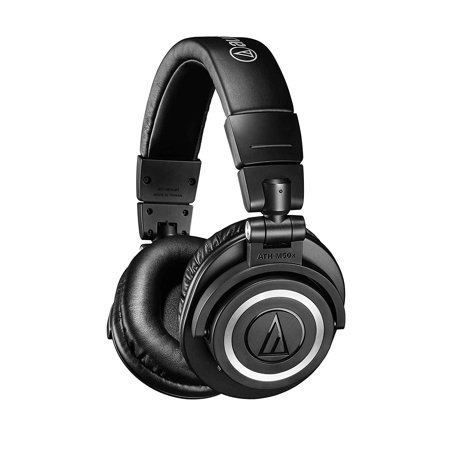 Audio Technica ATH-M50xBT Wireless Over-Ear Headphones Audio Technica Over Ear Headphones