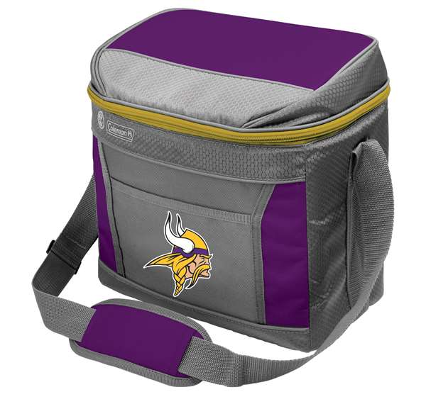 Minnesota Vikings  16 Can Cooler with Ice - Coleman