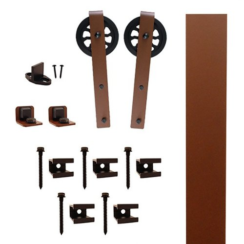 Quiet Glide Hook Strap Barn Door Hardware Kit