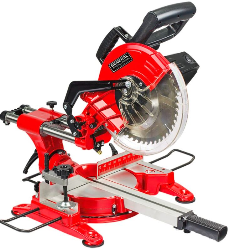 "General International Power Products MS3005 10"" Sliding Miter Saw by General International Power Products LLC"