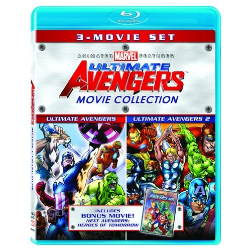 Ultimate Avengers Movie Collection: Ultimate Avengers / Ultimate Avengers 2 / Next Avengers: Heroes Of Tomorrow (Blu-ray) (Widescreen)