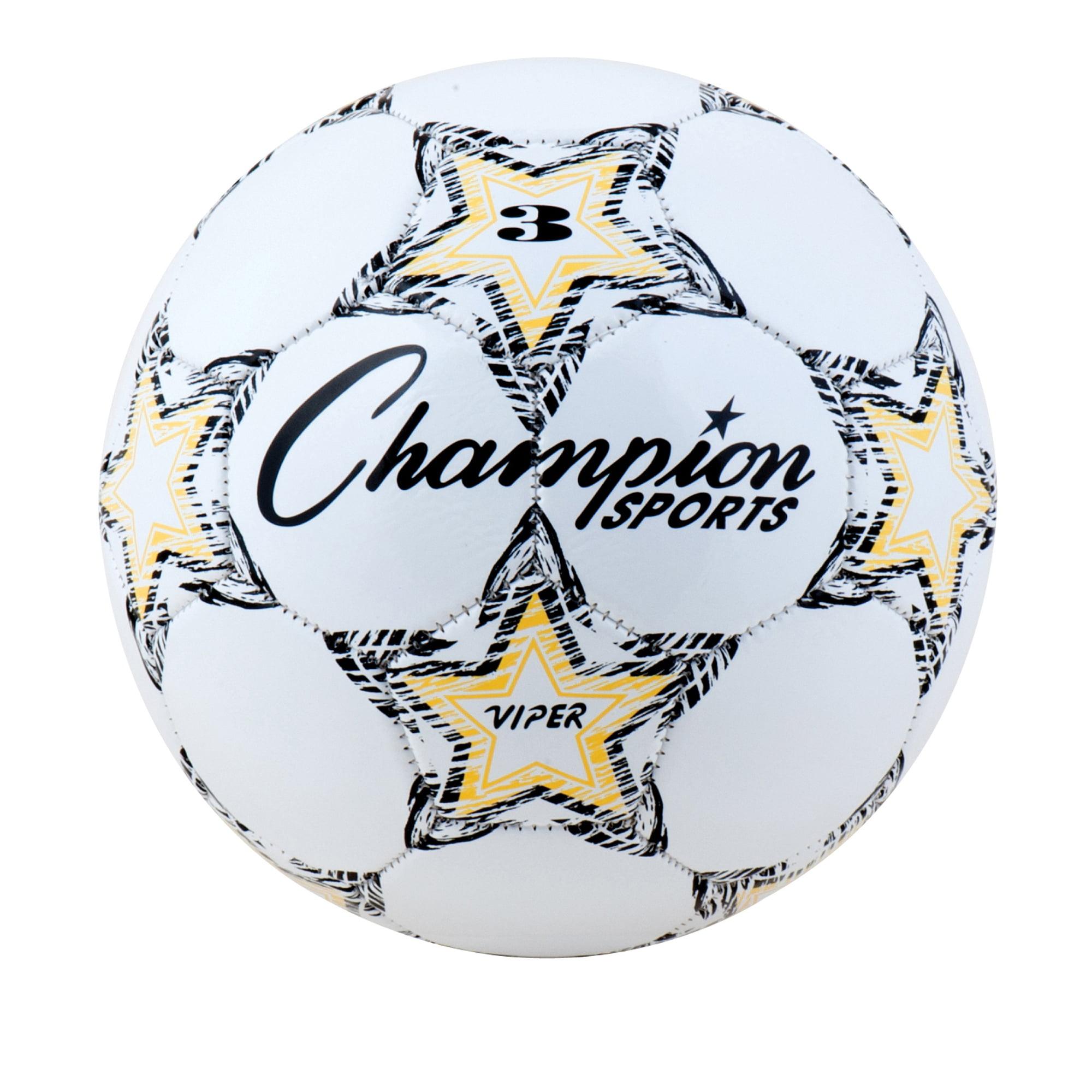 Champion Sports Viper Soccer Ball, Size 3