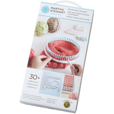 Martha stewart crafts knit weave loom for Martha stewart crafts knit weave loom kit