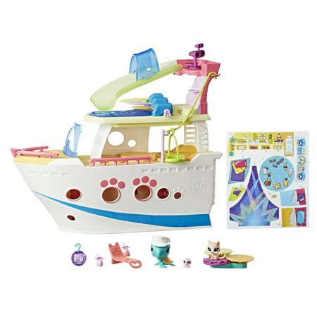 (Littlest Pet Shop LPS Cruise Ship)