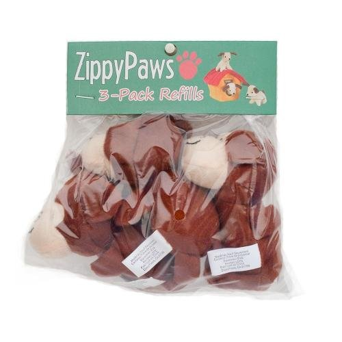 ZIPPY PAWS BURROWS 3 PACK MONKEYS REFILL