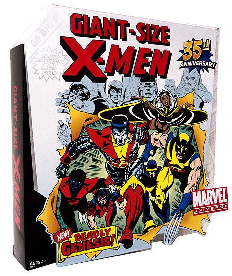 Marvel Universe Exclusives Giant Size X-Men Action Figure Set by