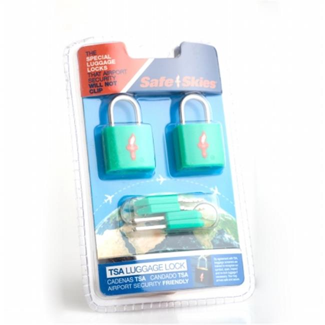 Safe Skies No. 208a TSA-Approved padlocks double-set - Pistachio