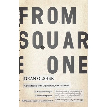 From Square One : A Meditation, with Digressions, on (Crossword Puzzle On Square And Square Roots)