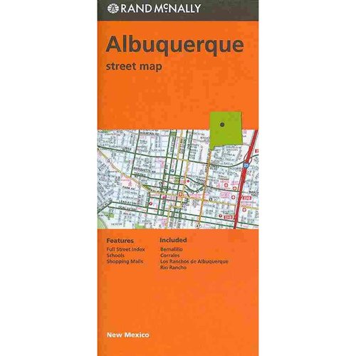 Rand McNally Albuquerque Street Map