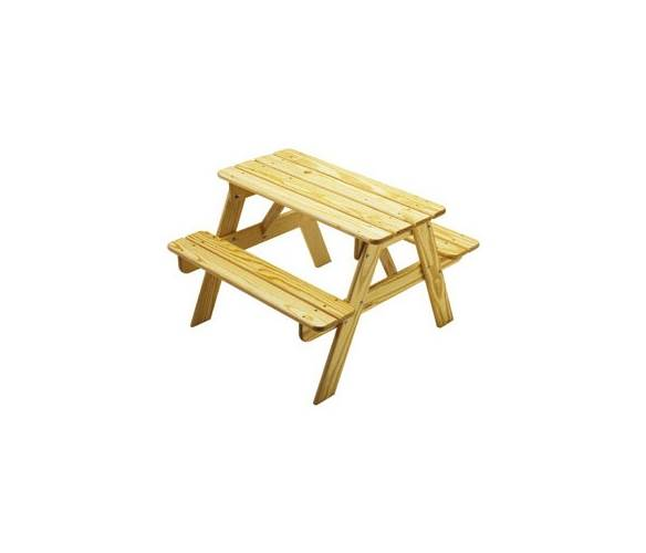 Child's Picnic Table (Red) by Little Colorado, LLC